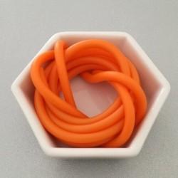 Gommina Arancio 1mt + 2 chiusure