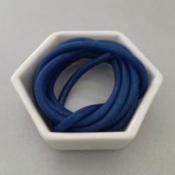 Gommina Blu 1mt + 2 chiusure