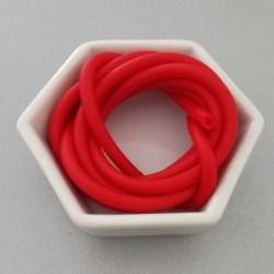 Gommina Rosso 1mt + 2 chiusure