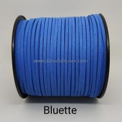 Filo Alcantara Bluette