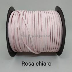 Filo Alcantara Rosa Chiaro