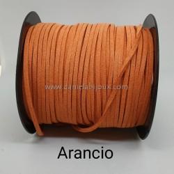 Filo Alcantara Arancio