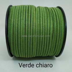 Filo Alcantara Verde Chiaro