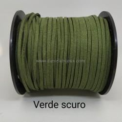 Filo Alcantara Verde Scuro