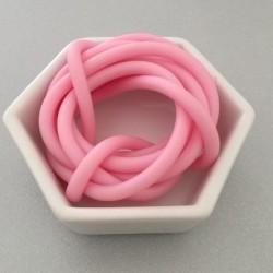 Gommina Rosa 1mt + 2 chiusure