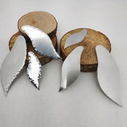 Alluminio Onda Contorno Battuto