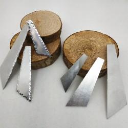 Alluminio Cravatta Contorno Battuto