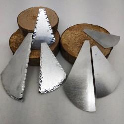 Alluminio Ventaglio Contorno Battuto