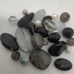 Resina grigio/nero