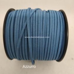 Filo Alcantara Azzurro