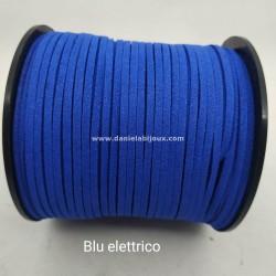 Filo Alcantara Blu Elettrico