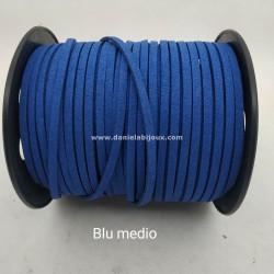Filo Alcantara Blu Medio
