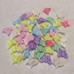 Farfalline plastica - 50 pezzi