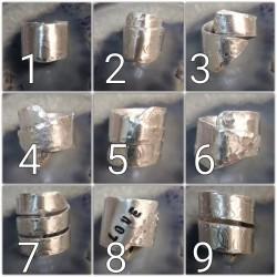Anello foglio alluminio B