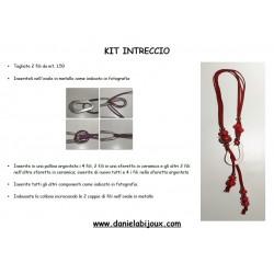 Kit Collana Intreccio