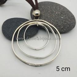 Ciondolo Cerchio Triplo