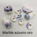 Marble Azzurro Oro Bianco
